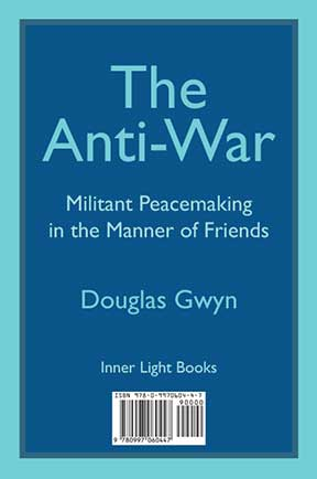 The Anti-War front cover